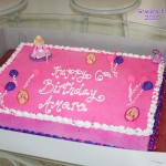 Amara's 6th Birthday Cake