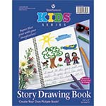 Cover of spiral bound storybook
