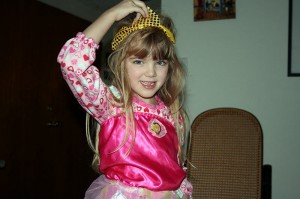 Princess Amara at age 5