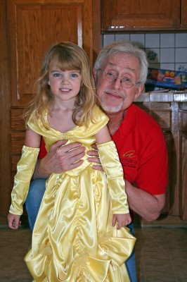Princess Amara-Belle and Grampy