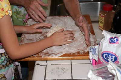 Baking lessons with Grandma