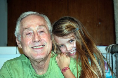 Amara and Grampy