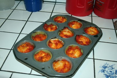Mini Monkey Bread Pizza