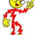 Reddy Kilowatt in honor of my Dad