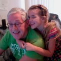 Amara and Grampy 2012
