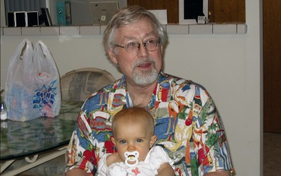 Amara and Grampy 2005