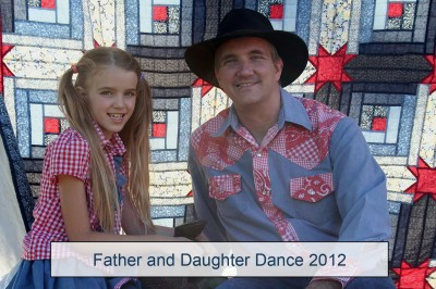 Amara and Daddy at the Father Daughter Dance 2012