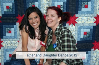 Mo and Jenna at the Father Daughter Dance 2012