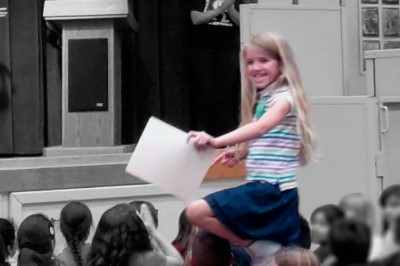Amara awarded Principal's Honor Roll for all of 2012
