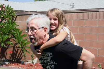 Choking Grampy