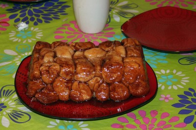 Original Monkey Bread ready to eat