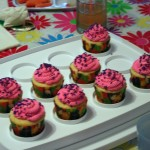 Pink and Purple Cupcakes