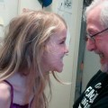 Amara and Grampy who loves who the most