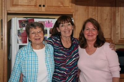 Aunt Joyce, me and Cousin April