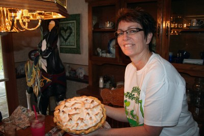 Sandy and the Lemon Meringue Pie