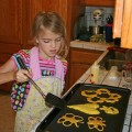 Amara Flipping Butterfly and Heart Pancakes