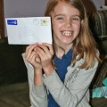 Amara and the letter she received from Lucy