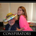Amara and Grampy Conspirators