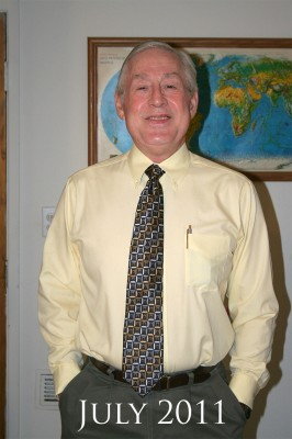 Grampy in his tie 2011