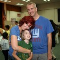 Amara, Mommy and Daddy at Honor Roll Ceremony