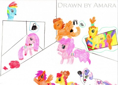 Amara's My Little Pony Drawing