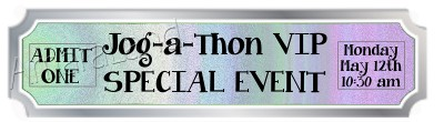 Jog-a-thon VIP Special Event Ticket for the Magic Show