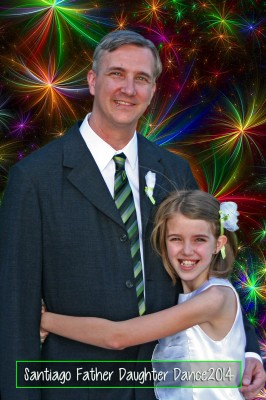 Amara and her Daddy at the Father and Daughter Dance 2014