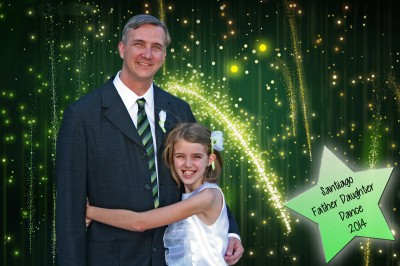 Daddy and Amara at the Father and Daughter Dance