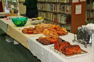 Teachers Appreciation Breakfast Table