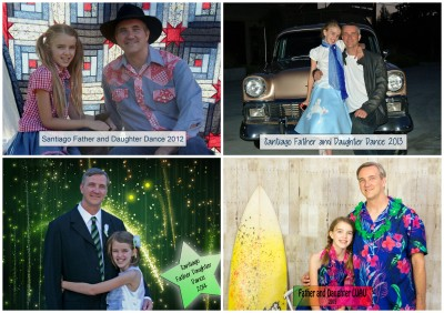 4 years of Father and Daughter Dance photos