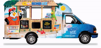 The Kona Ice Truck of Orange County