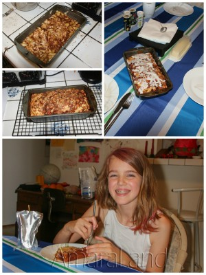 Amara and the Awesome Country Apple Fritter Bread