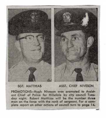 Uncle Putt when he was promoted to Assistant Chief of Police