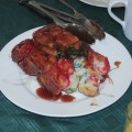 Plate of Rainbow Monkey Bread