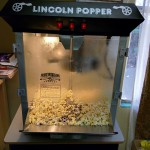 Lincoln Popper Popcorn Machine