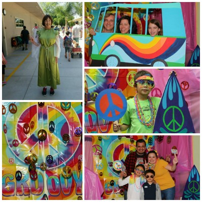 The Book Fair goes 60s collage