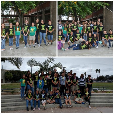 Santiago Super Mathletes Collage