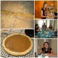 Butterscotch Cinnamon Pie Collage
